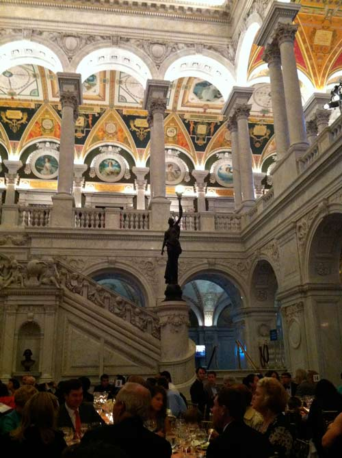 NEA National Heritage Awards event, Great Hall of the Library of Congress